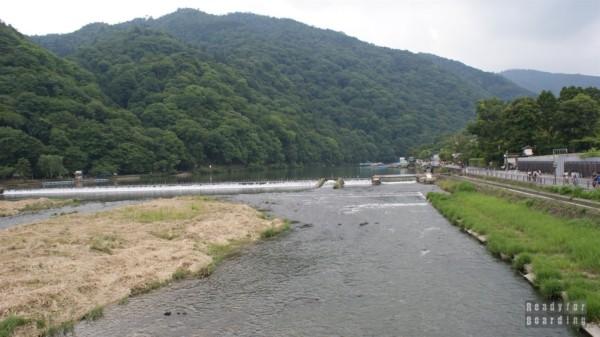 Togetsukyo Bridge w Arashiyama