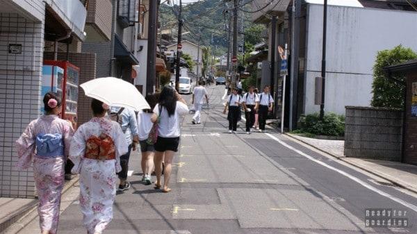Prawdziwa Japonia - Higashiyama District, Kioto