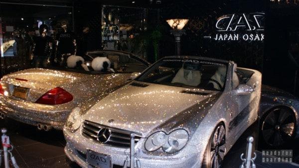 Diamentowy Mercedes - Osaka, Japonia