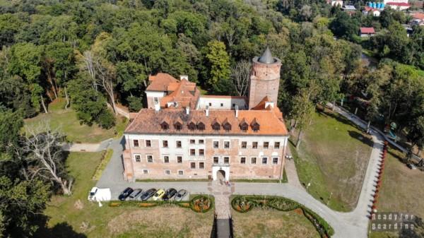 Zamek Arcybiskupów Gnieźnieńskich w Uniejowie, województwo łódzkie