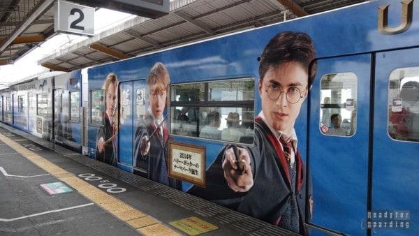 Pociąg Harry Potter Only for Women - Osaka, Japonia