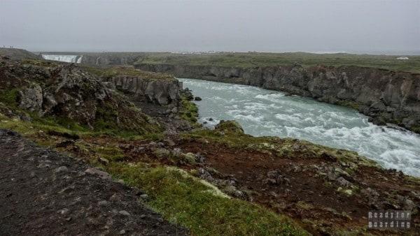 Wodospad Goðafoss, Islandia północna
