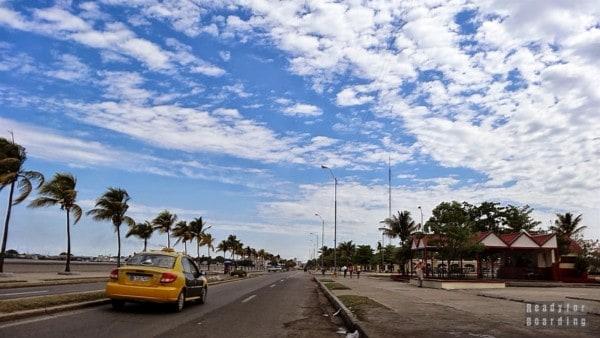 Droga do Punta Gorda w Cienfuegos - Kuba