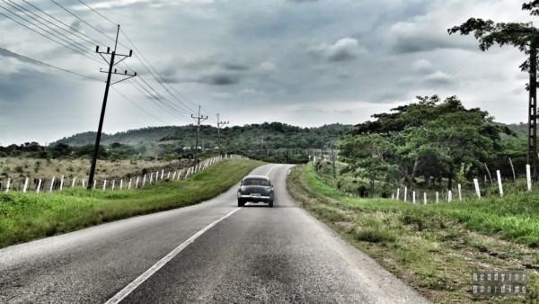 Droga do Trinidadu - Kuba