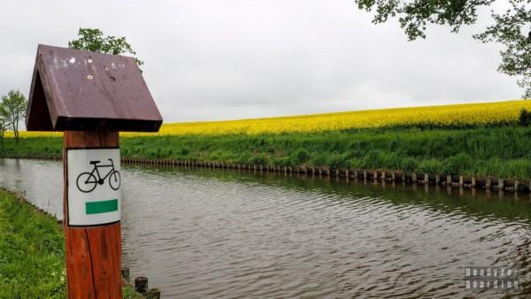 Szlak rowerowy - Kanał Elbląski