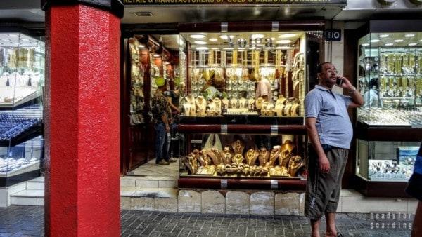 Złoto w Dubaju - Gold Souk