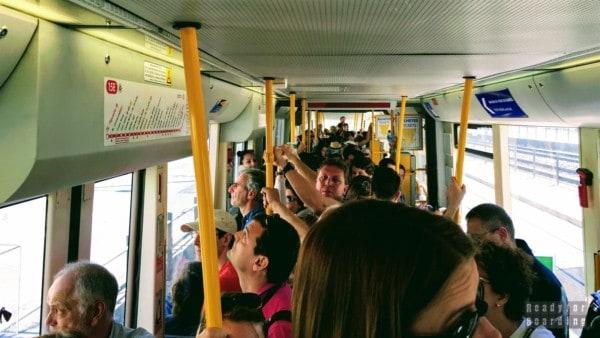 Podróż tramwajem do Belem, Lizbona