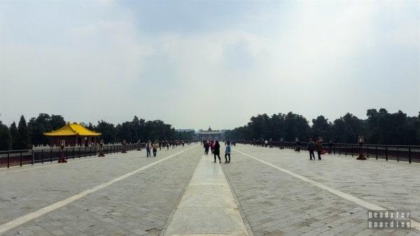 Czerwony Most w Świątynii Nieba, Pekin