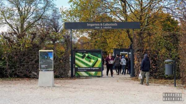 Labirynt w ogrodach Schönbrunn, Wiedeń - Austria