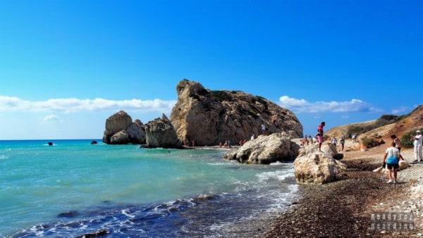 Skały Afrodyty, Cypr