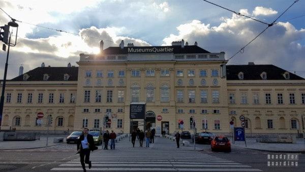 MuseumsQuartier, Wiedeń - Austria