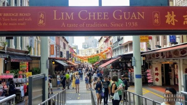 Chińska dzielnica - Singapur