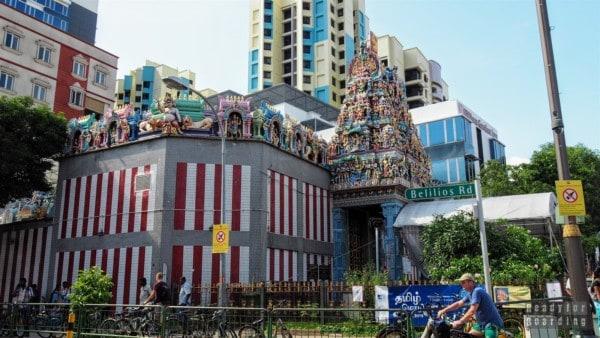 Świątynia Sri Veeramakaliamman, Little India - Singapur