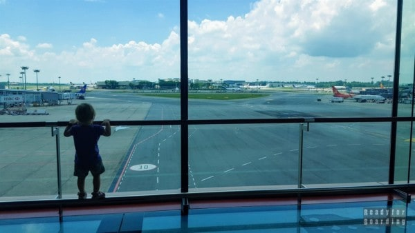 Singapur - Lotnisko Singapur-Changi