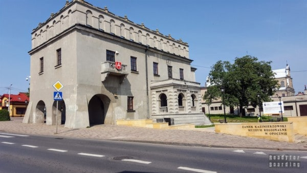Zamek w Opocznie - zamki województwa łódzkiego