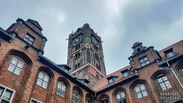 Dziedziniec Ratusza Staromiejskiego, Toruń