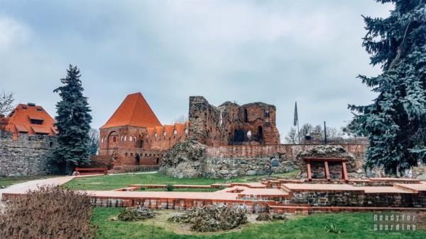 Ruiny zamku krzyżackiego w Toruniu