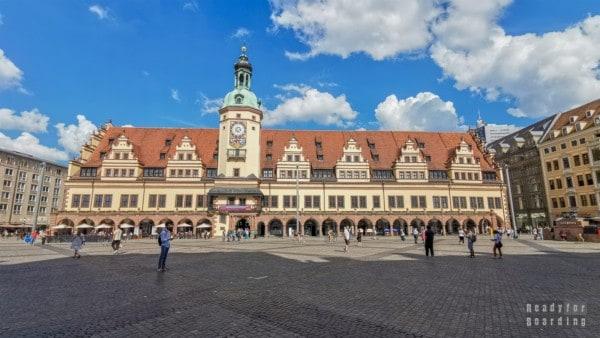 Rynek, Lipsk - Niemcy
