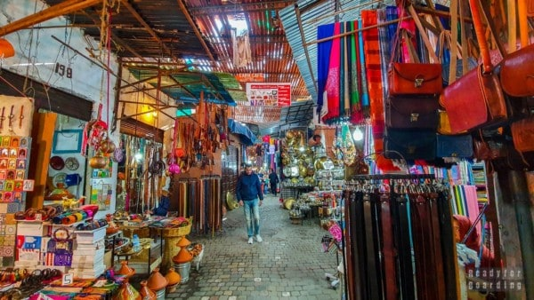Suk - Marrakesz, Maroko