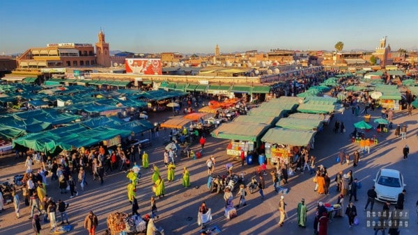 Plac Dżami al Fana, Marrakesz - Maroko
