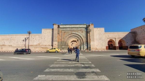 Brama miasta Bab Agnaou - Marrakesz, Maroko