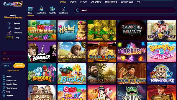 Casino360 Website Review