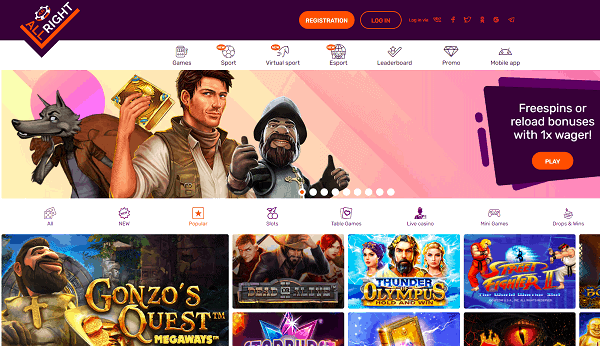 All Right Casino Review & Free Bonus