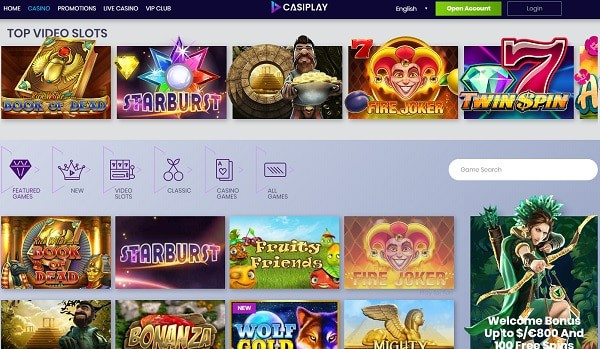Casiplay Casino Review & Rating