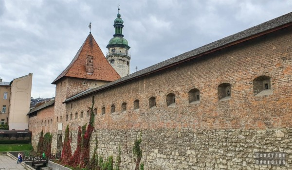 Brama Gliniańska, Lwów