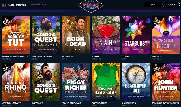 Excellent Slots, Live Dealer and Jackpot Games!