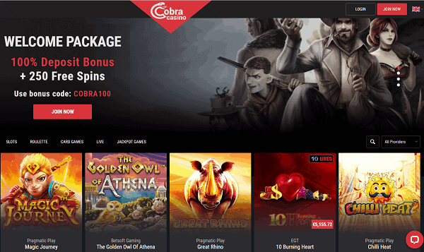 Cobra Casino Full Review