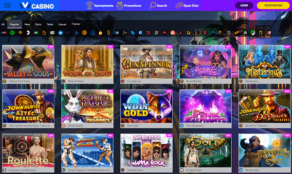 IVICasino free spins