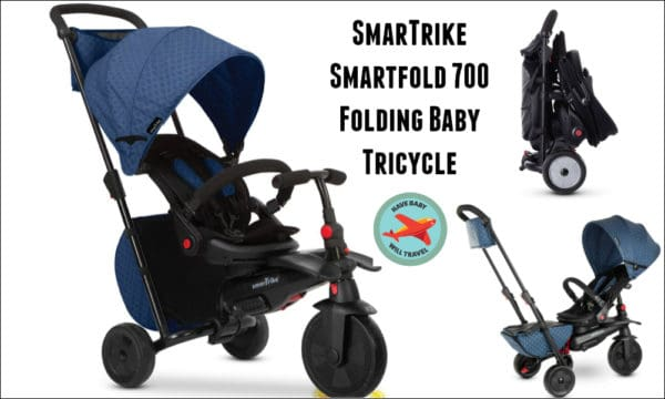 Travel Stroller Alternative for Baby Yoda - a folding tricycle