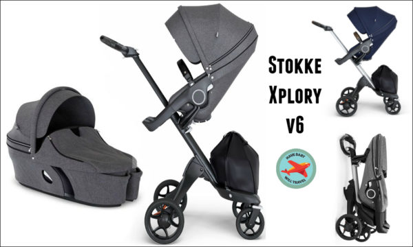Travel Stroller for Baby Yoda - Stokke Xplory V6