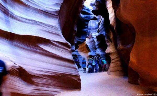 Antelope slot canyon near page az