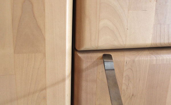 Spaltmessung von Holzbauteilen