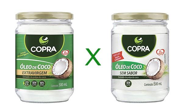 Diferença Óleo de Coco Extravirgem x Óleo de Coco Sem Sabor