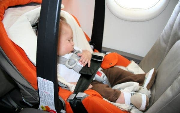 Flying with a Newborn Baby in a Car Seat