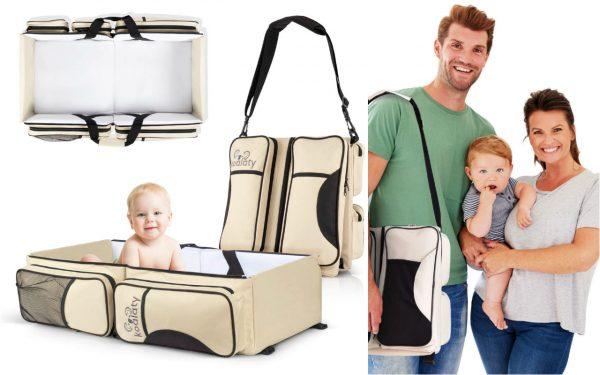 Portable Baby Bed Koalaty Travel Bassinet Bag
