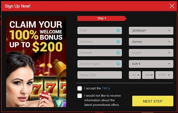 Register your account with Mongoose and get 30 free spins bonus