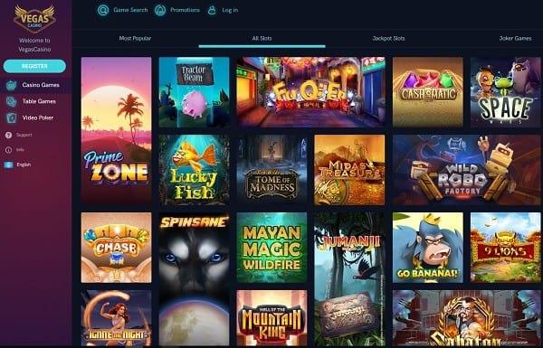 VegasCasino.com free bonus