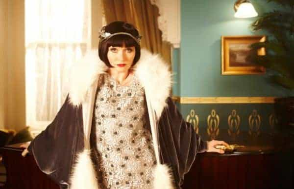 Phryne fisher is the most fabulous female detective in post wwi melbourne. Watch the show for her stunning flapper wardrobe.