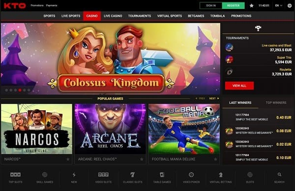 KTO Casino & Sportsbook Review