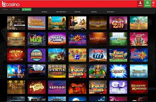 bCasino games and software review