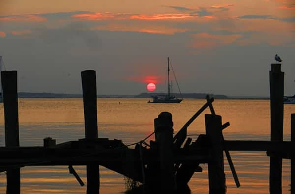 Everybody's favorite among things to do in Amelia Island: Watch the sunset. (Photo: Bonnie Gross)