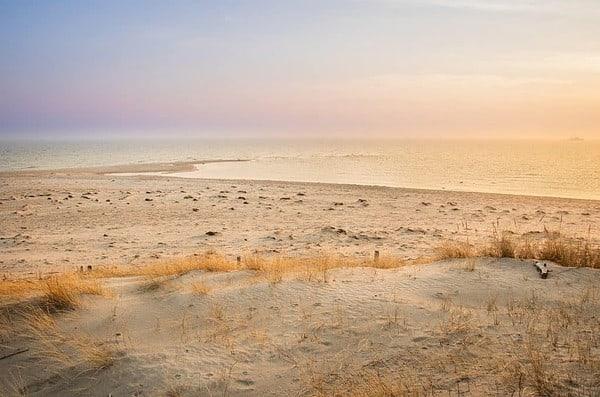 Hel peninsula en Polonia