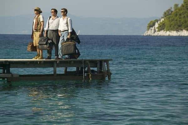 Tune in to mama mia for the cast and abba music, stay for the gorgeous greek island setting.