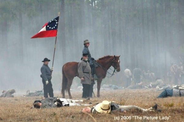 Florida Civil War reenactment: The battle is expected to attract as many as 2,500 re-enactors from around the country.