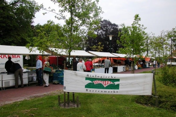 Biologische markt Frederiksoord