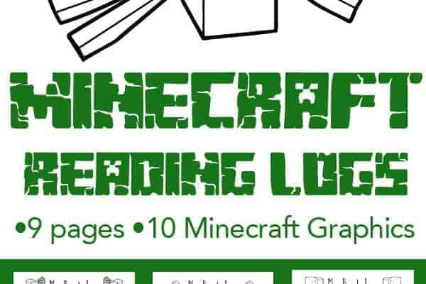 Minecraft Themed Reading Logs to help your Minecraft fan get motivated on a path toward reading success.